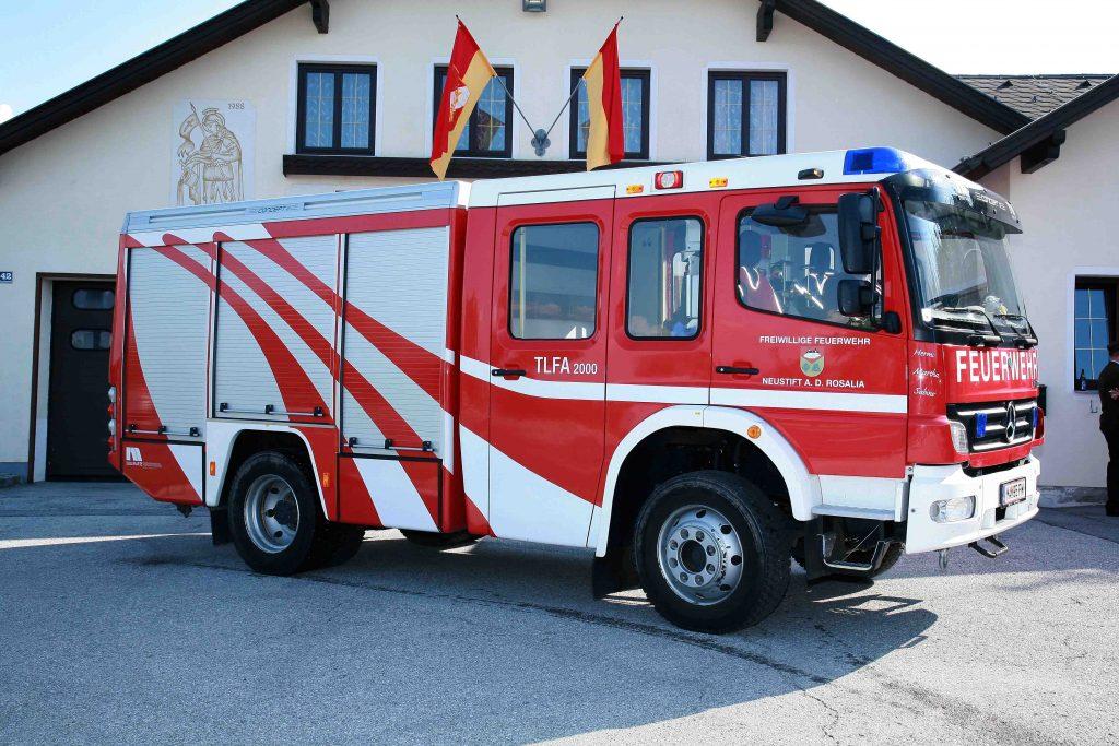 TLFA 2000 - Tanklöschfahrzeug