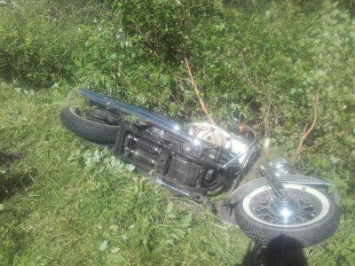 Motorradunfall am Vatertag