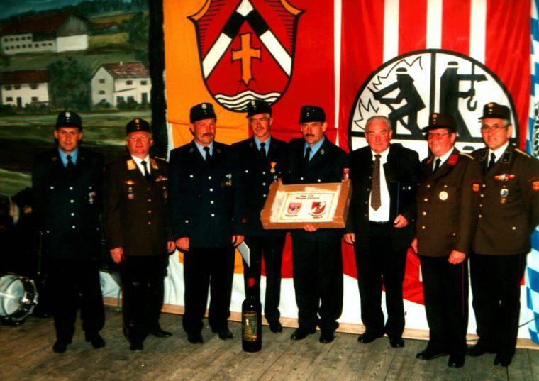 Zu Gast bei der Feuerwehr Riedering im Landkreis Rosenheim, D