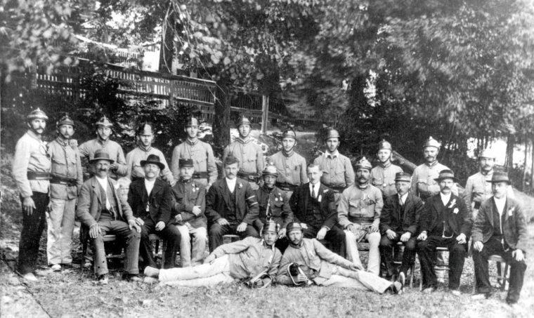 30-jähriges Bestandsjubiläum im Jahr 1921
