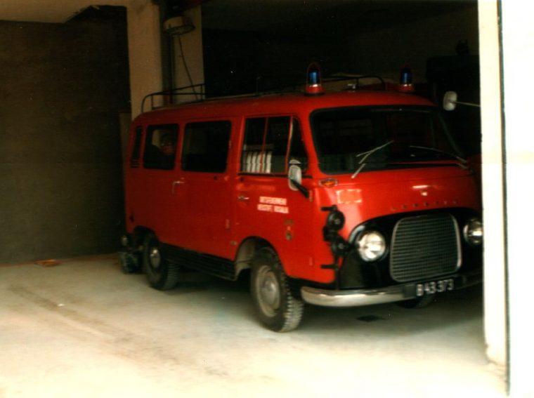 Kleinlöschfahrzeug Ford Taunus Transit